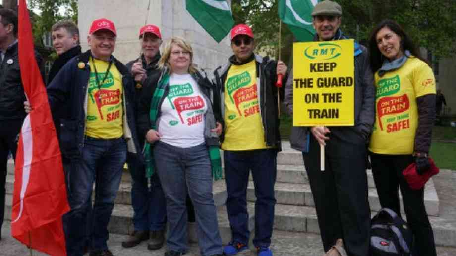 "RMT proposes rail summit to help ""break deadlock in driver only disputes"""