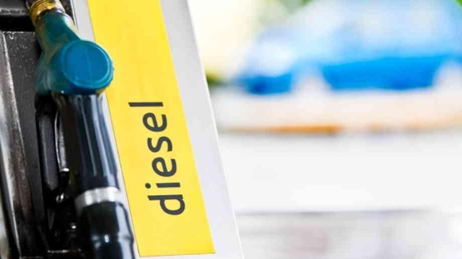 Increase in diesel cars on the road